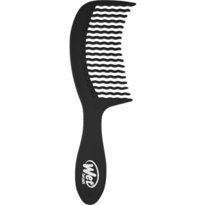 Wet Brush Detangling Comb Black