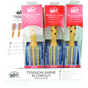Wet Brush Pro 9-Piece Tension Shine Blowout Display