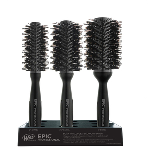 9-Piece Pro Epic Helix Graphite Display by Wet Brush Pro