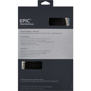 Epic Collection Deluxe Detangler And Shine Kit by Wet Brush Pro