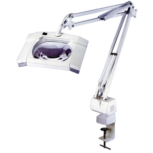 Meishida Square 5x Diopter Magnifier Tabletop Lamp