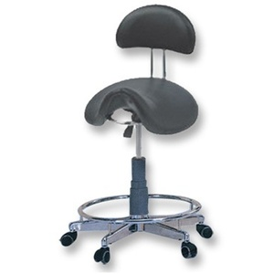 Meishida Hydraulic Saddle Stool with Backrest (CH-841BK)