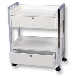 Meishida Salon Cart with 2 Locking Drawers (WC-100