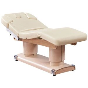 Amora Wood 4-Motor Electric Massage and Facial Bed (CH-2865)