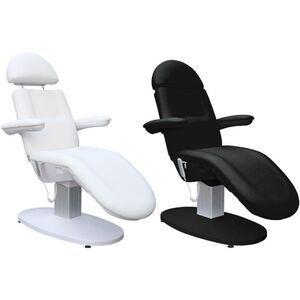 The Nicola 3-Motor Facial Bed and Treatment Chair Available in White or Black (CH-2166)