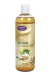 Pure Sesame Oil - Organiclly Grown 16 oz.