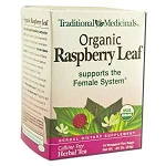 Organic Raspberry Leaf Tea 16 Tea Bags by Traditio