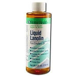 Liquid Lanolin Pure Emollient Oil 4 fl oz by Home