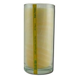 Candle Gem Tone Unscented Jar White 11 oz by Alo