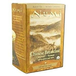 Numi Chinese Breakfast Yunnan Black Tea 18 Tea Bag