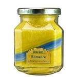 Candle Scented Deco Jar Romance (YellowLight Bl