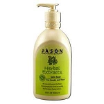 Liquid Satin Soap with Pump Herbal Extract 16 fl