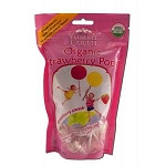 Organic Lollipops Strawberry 6 x 3 oz Bags by Yum