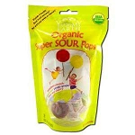 Organic Lollipops Super Sour 6 x 3 oz Bags by Yum