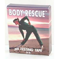 pH Testing Tape 15 ft Roll by Body Rescue