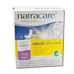 Natural Pads Ultra Long with Wings 10 Pads by Nat