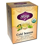 Cold Season Tea 16 Tea Bags by Yogi Tea Company