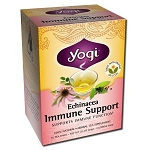 Echinacea Immune Support Tea 16 Tea Bags by Yogi T