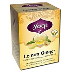 Lemon Ginger Tea 16 Tea Bags by Yogi Tea Company