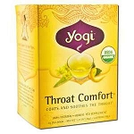 Throat Comfort Tea 16 Tea Bags by Yogi Tea Company