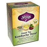 Green Tea Decaf Kombucha 16 Tea Bags by Yogi Tea C