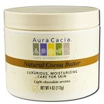 Pure Cocoa Butter 4 fl oz by Aura Cacia 4 oz.