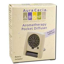 Pocket Diffuser (Contains 5 refill pads) by Aura C