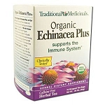 Organic Echinacea Plus 16 Tea Bags by Traditional