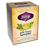 Cold Season Tea Sampler 16 Tea Bags by Yogi Tea Co