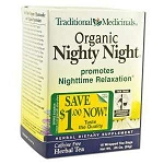Organic Nighty Night Tea 16 Tea Bags by Traditiona