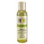 Natural Skin Care Oil Sweet Almond Oil 4 fl oz by