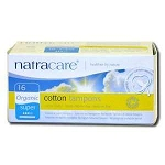 Organic Cotton Tampons wth Applicator Super Absor