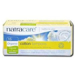 Organic Cotton Tampons wth Applicator Regular Abs