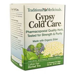 Gypsy Cold Care Tea 16 Tea Bags by Traditional Med