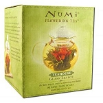 Glass Teapot Teahouse 14 oz Teapot by Numi Teas a