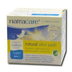 Natural Pads Ultra Super with Wings 12 Pads by Na