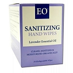 Hand Sanitizer Towelettes Organic Lavender 24 Tow