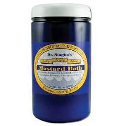 Mustard Bath 32 oz by Dr Singha's Mustard Bath 3