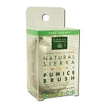Natural Sierra Pumice Brush by Earth Therapeutics
