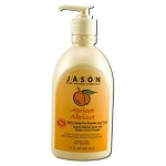 Liquid Satin Soap with Pump Apricot 16 fl oz by J