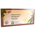 American Ginseng Extract with Royal Jelly & Bee Po