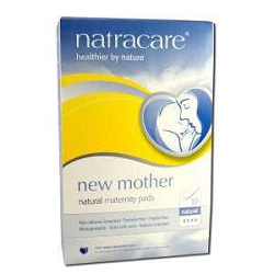 New Mother Natural Maternity Pads 10 Pads by Natra
