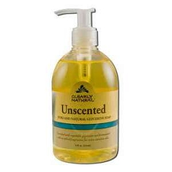 Liquid Glycerine Soap Unscented with Pump 12 oz
