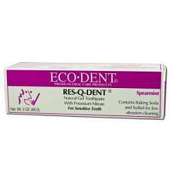 Res-Q-Dent Gel Toothpaste 3 oz by Eco-DenT Natural