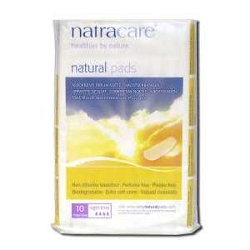 Natural Pads Night Time Extra Long 10 Pads by Nat