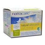 Natural Pads Ultra Regular with Wings 14 Pads by