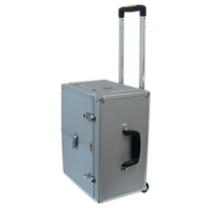 City Lights Madison Collection Aluminum Tool Case On Wheels 15-3/4L X 12-3/4H X 8-3/4D