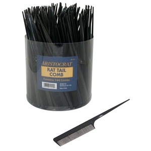 Aristocrat Rat Tail Combs In A Tub Container (AR-1