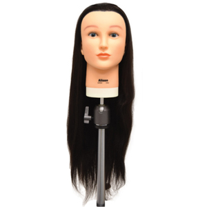 "Celebrity Alison 26""-28"" Protein Fiber Hair Cutting Manikin"