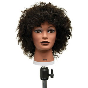 "Celebrity Dionne Afro Manikin 22"" Brown (E355)"